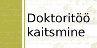 Jaak Sikk kaitseb doktoritööd 13. juulil