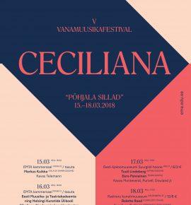 Vanamuusikafestival Ceciliana 2018