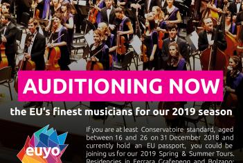 Konkurss Euroopa Liidu Noorteorkestrisse